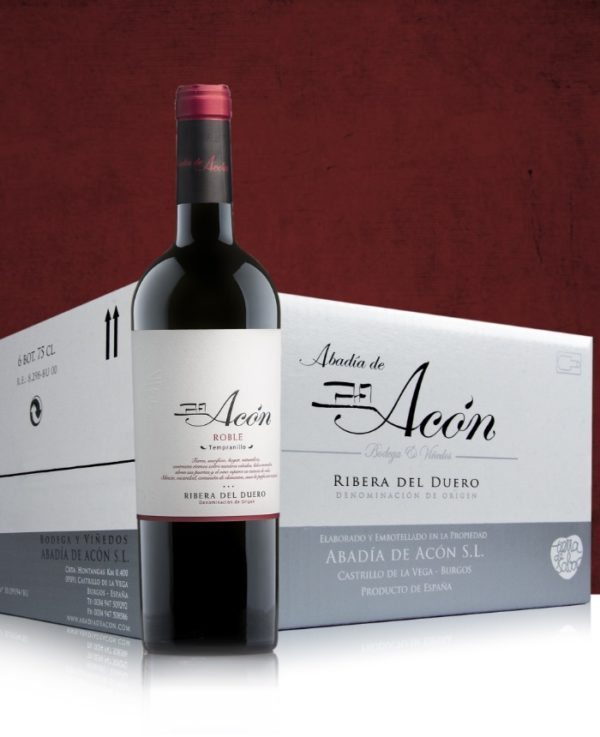 Acón Roble 2018 Caja de 6 Botellas 75 cl