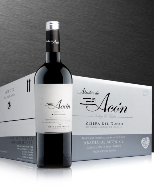 Acón Crianza 2017 Caja de 6 Botellas 75 cl