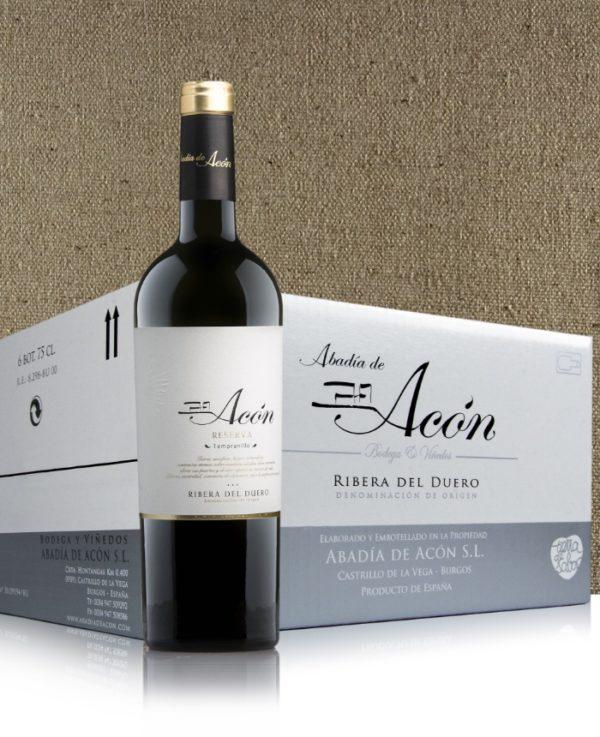 Acón Reserva 2012 Caja de 6 Botellas 75 cl